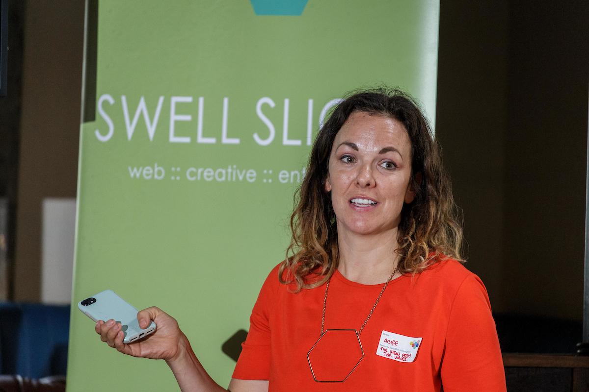 Swell organiser Aoife Porter